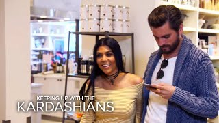 KUWTK | Kourtney Kardashian Helps Scott Shop for Kitchen Stuff | E!(The