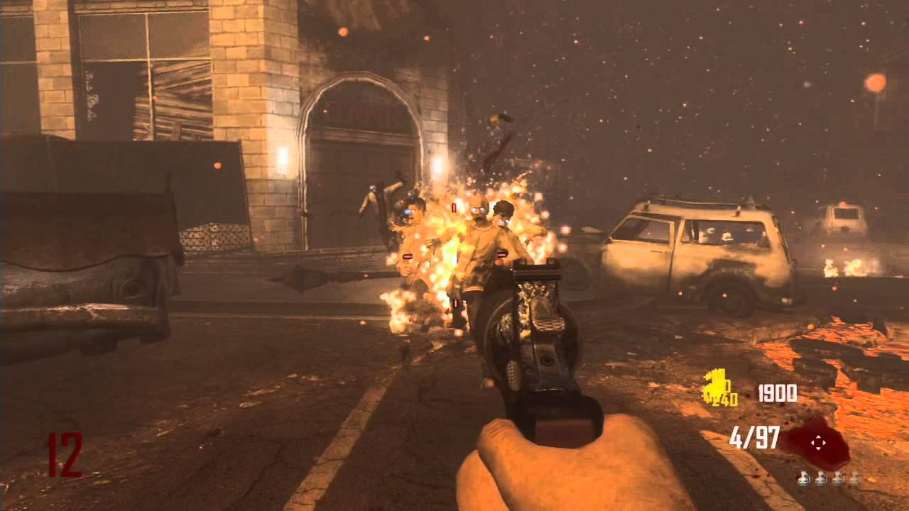 Wii U Black Ops 2 Zombies : Pistols only on town pt call of duty black ops wii u