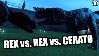 Jurassic World Evolution Deutsch #30 ► REX vs REX ◄| Let's Play Gameplay German