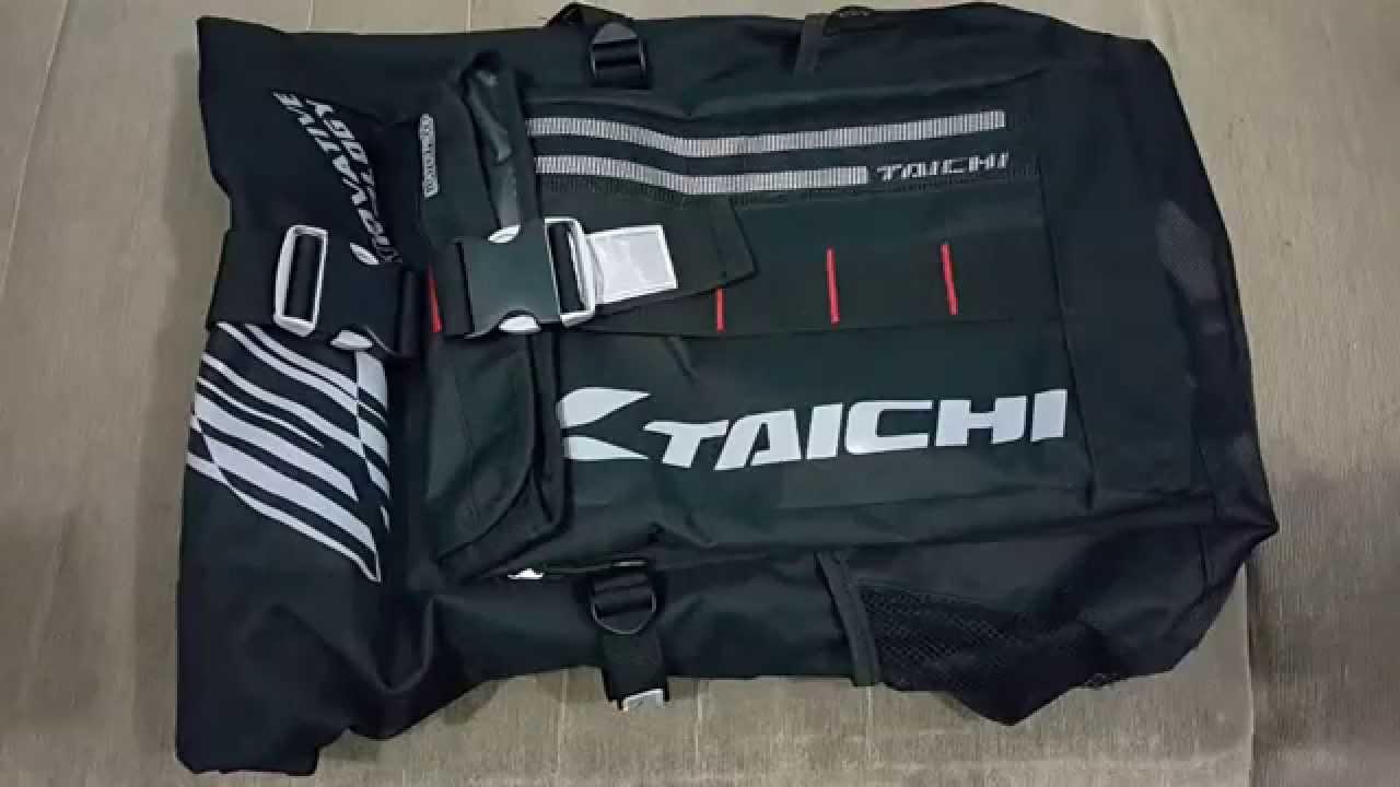 bd5f2873c5 First Look   RS-Taichi RSB-272 EL 26L Waterproof LED Riding Bag ...