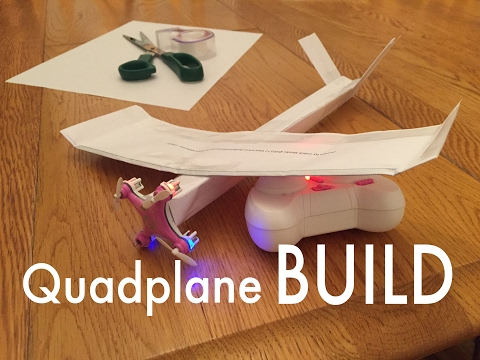RC Paper Airplane for $16! BUILD INSTRUCTIONS