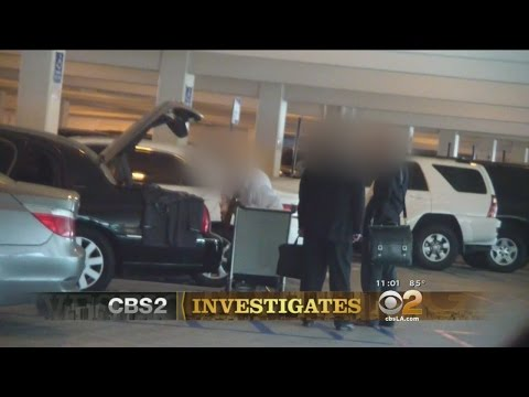 CBS2 Investigation Uncovers Dozens Of Car Service Drivers Parking In Spaces For Disabled At LAX
