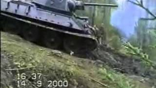 T34 Tank rescued from the marshland