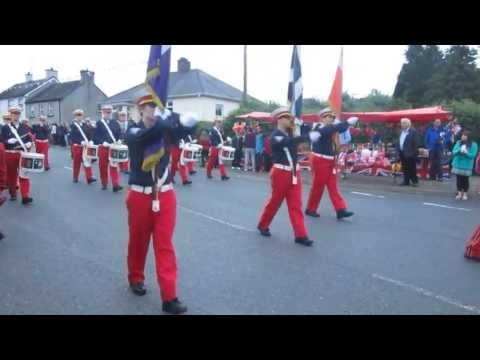 Enniskillen Fusiliers Flute Band @ Brookeborough Parade 2013.