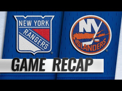 Beauvillier scores twice to help Isles beat Rangers