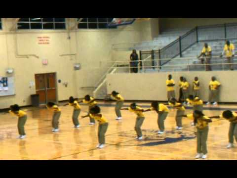 Apopka middle school step team