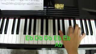 Piano tutorial  Kiss The Rain  Right Hand