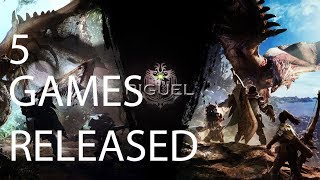 5 Games (PC/XBOX/PS4) Released in January 2018