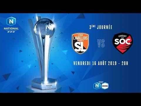 3e journée : Laval - Cholet I National FFF 2019-2020