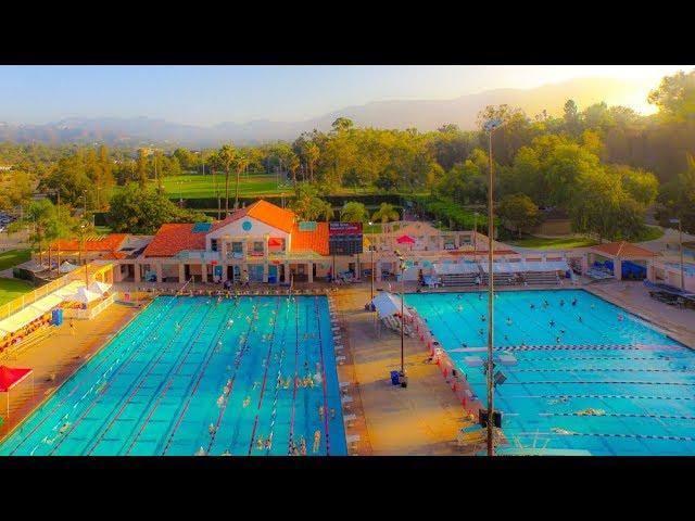 Scenes From The Rose Bowl Aquatic Center Pasadena Youtube