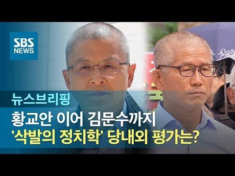 황교안 이어 김문수까지…'삭발의 정치학' 당내외 평가는? / SBS / 주영진의 뉴스브리핑