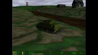 Panzer Commander - M10 Checks The Area