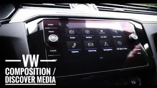 2017 VW Composition Media/Discover Media Infotainment & Navigationssystem im Überblick