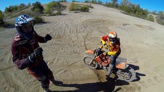 Enduro Sand Training - Polski Motovlog
