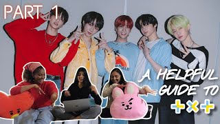 SO SQUISHYYY 😭💚🥺 !!! ARṀYs React to A Helpful Guide to TXT (Part 1)