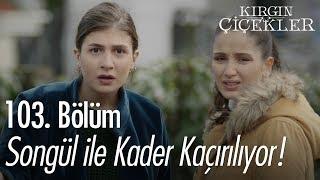 Songül ile Kader kaçırılıyor - Kırgın Çiçekler 103. Bölüm