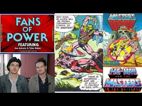 Fans of Power Episode 127 - Tri-Klops Mini Comic, New Movie Director