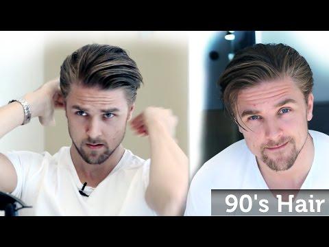 Men's 90's Hairstyle Inspiration - Wavy Bangs