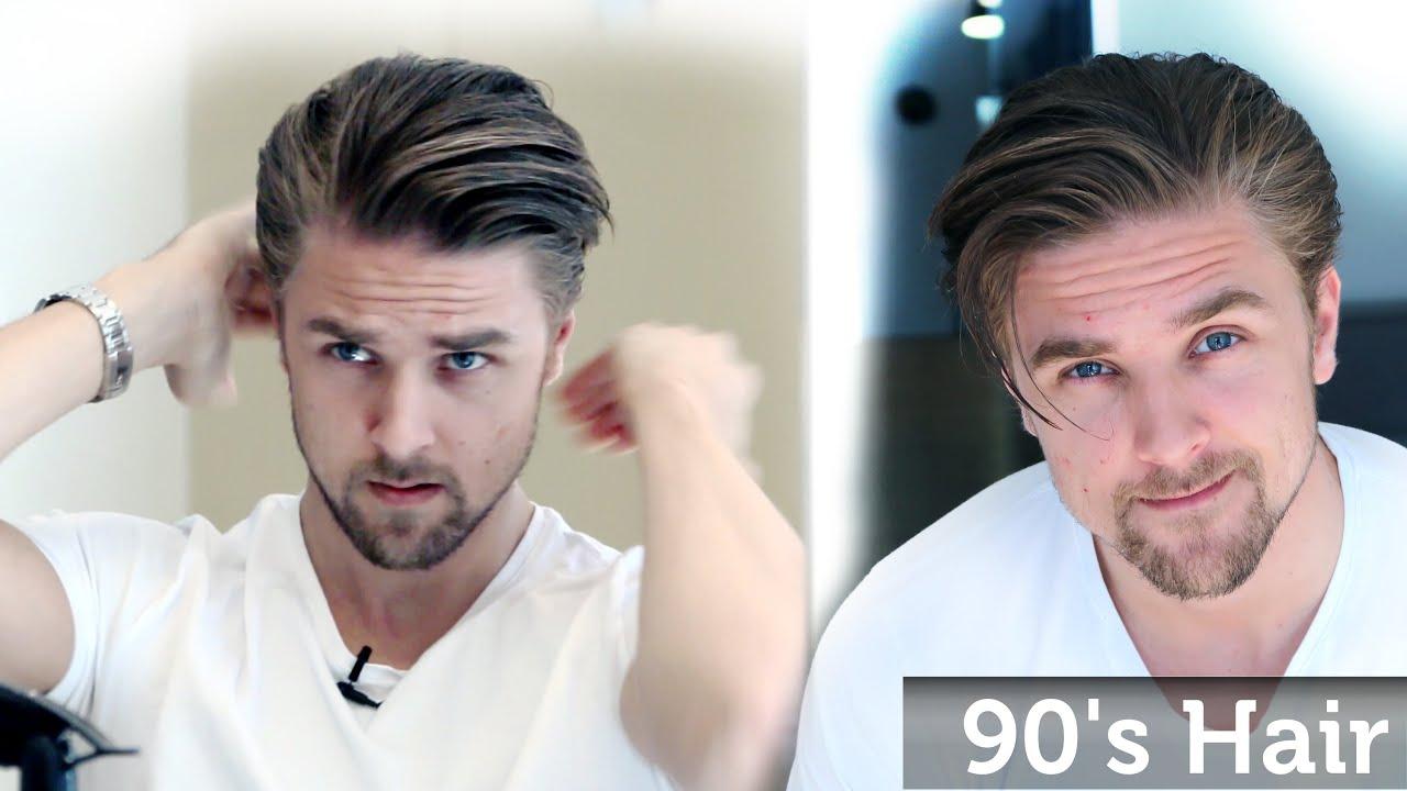 Men s 90 s Hairstyle Inspiration Wavy Bangs