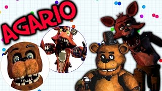 FIVE NIGHTS AT FREDDY'S! | Agario Battle Royale!