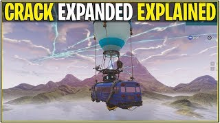 Fortnite : CRACK/RIFT IN SKY EXPANDING (EVENT NEW TIME et plus!)