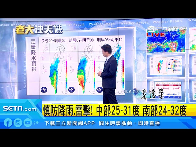周末大雨續進擊!下周颱風形成機率高│三立準氣象│三立新聞台