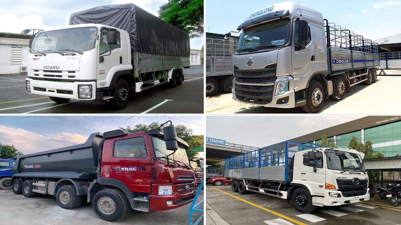 Top 5 xe tải ĐẮT NHẤT thị trường Việt Nam || LongBien Truck ||
