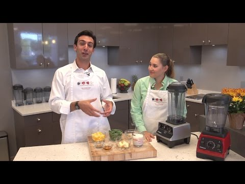 How to Make a Green Smoothie with your Vitamix
