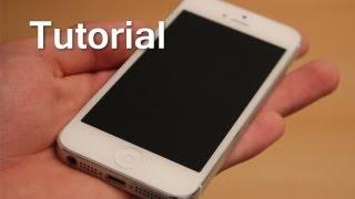 Tutorial: Wie mache ich am besten die Displayschutzfolie auf mein iPhone 5s,5c,5,4s & 4 ?