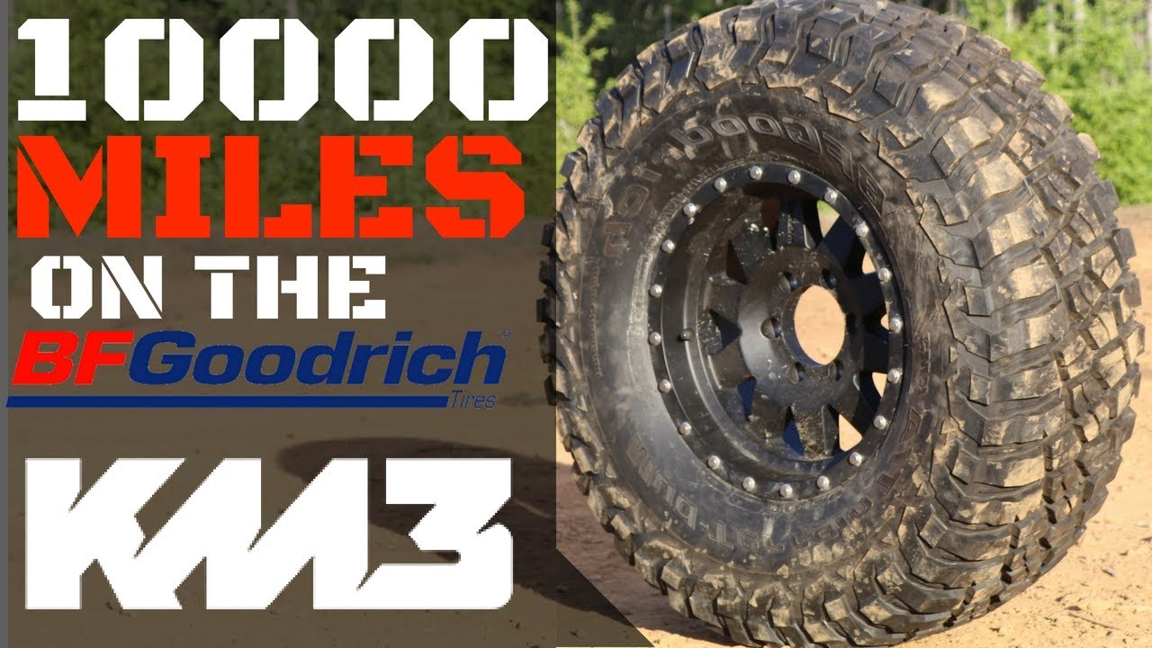Bf Goodrich At >> BFGoodrich KM3 Mud Terrain Review After 10,000 Miles - YouTube
