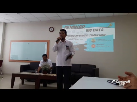 Seminar Big Data  Pusdiklat BPS Solusi Informasi Jaman Now 9 Januari 2018