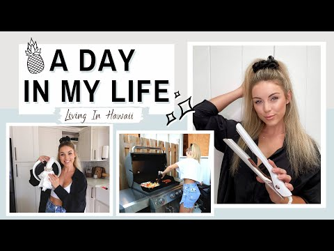 A Day In My Life: Hair Tutorial, Errands & Cooking | Living In Hawaii