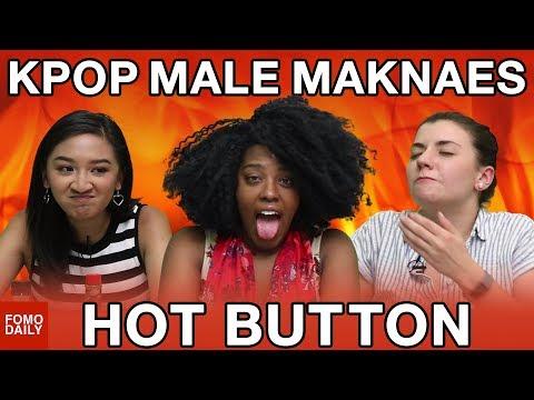 KPOP Male Maknaes (BTS, EXO, WINNER, SHINee, SEVENTEEN) • Hot Button