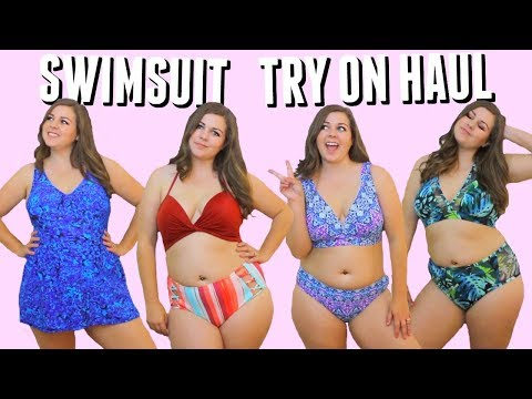 8e0911cf0d523 Curvy Bikini Try On Haul! Swimsuits For Spring Break 2018! - YouTube