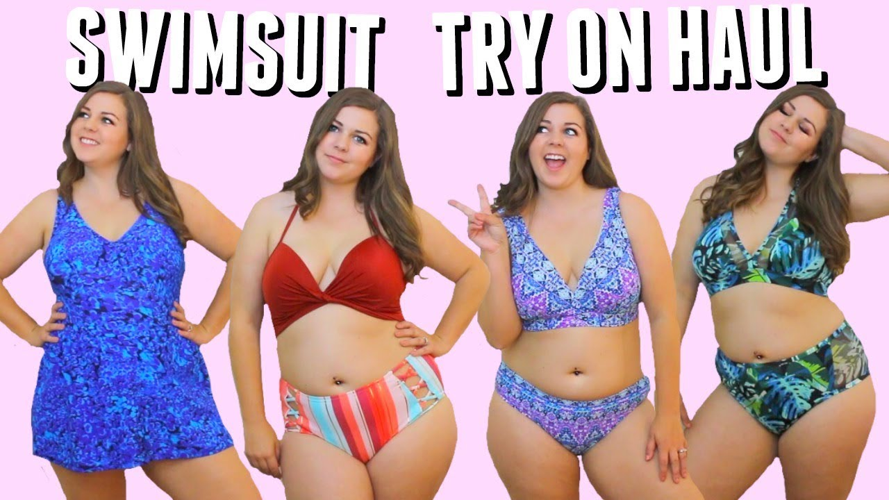 39fa835716 Curvy Bikini Try On Haul! Swimsuits For Spring Break 2018! - YouTube