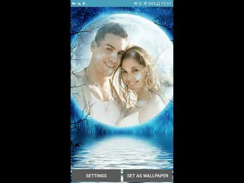 Moonlight Photo Live Wallpaper