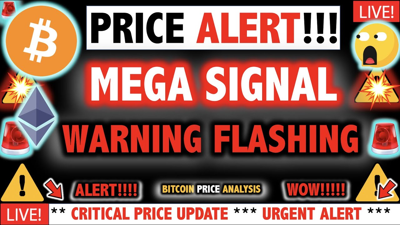 MEGA WARNING FLASHING ON BITCOIN & ETHEREUM?!! ⚠️Crypto Today/ New BTC Cryptocurrency Price News