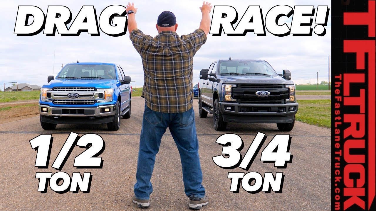 F150 Vs F250 >> What S The Quickest Ford Truck F 150 5 0l Vs 2 7l Vs F 250
