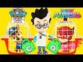 PJ Masks Owlette Rescues ToysRus Vehicles in Swimming Pool Adventure