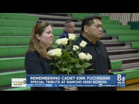 Rancho High School honors former student and fallen hero Kirk Fuchigami