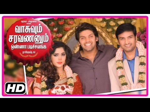 VSOP Tamil Movie | Scenes | Arya interviews Bhanu for Santhanam | Santhanam and Bhanu get married