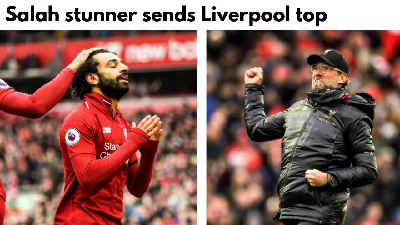 Salah's stunner helps Liverpool beat Chelsea 2-0 in EPL