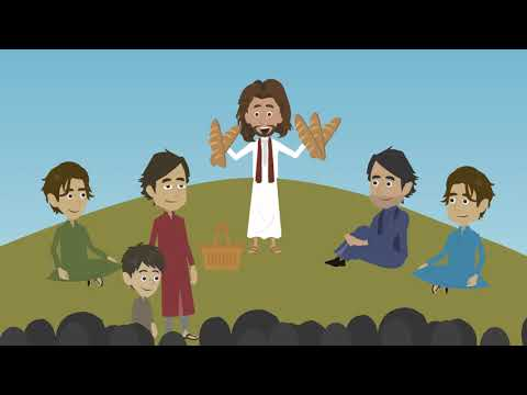 The Miracle of the Eucharist! Ordinary Time 17B (Catholic Kids Media)