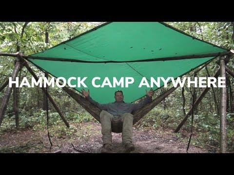DIY Tripod Hammock Stand - Hang Anywhere