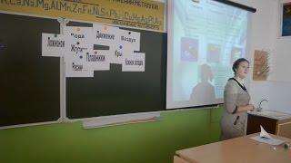 Видеозапись урока биологии в 6 классе. Тема
