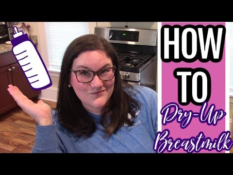 HOW TO DRY UP YOUR MILK NATURALLY AND AVOID MASTITIS | PAIN FREE WAYS TO DRY UP MILK