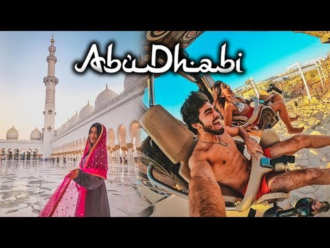 My time in ABUDHABI! | Travel vlogs | #LarsaTravels