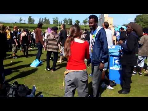 Amsterdam Cannabis Festival 2012 at Wester Park tour guide 3