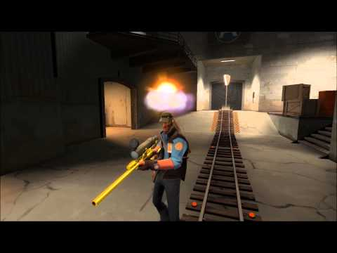 TF2 Unusual Blokes: Morning Glory (End of the Line effect)