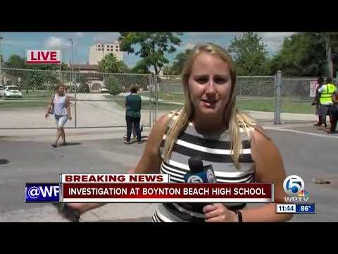 Boynton Beach High School still on lockdown